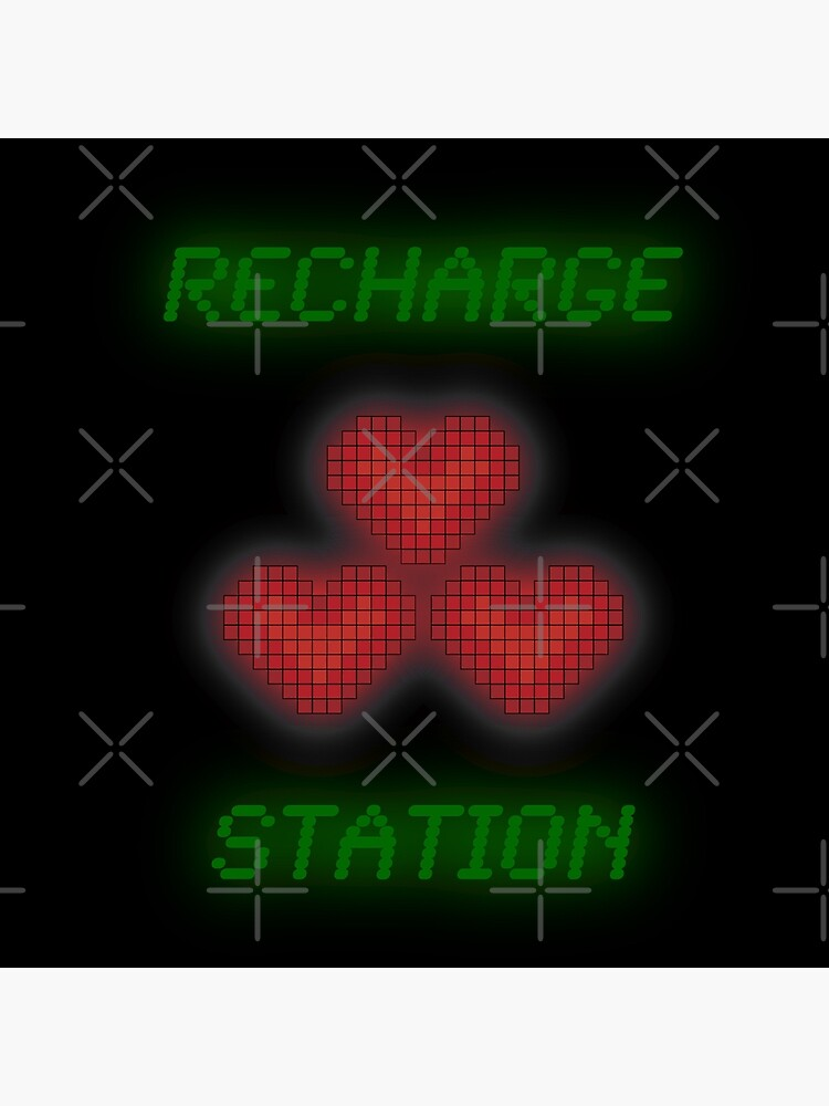 Recharge Station by Maeskye
