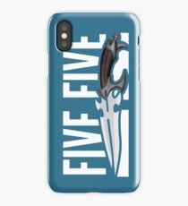 Buffy - Faith 5 by 5 minimalist poster iPhone Case