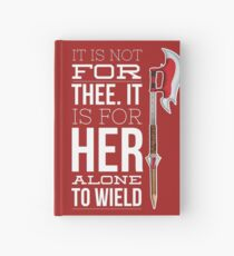 Buffy - it is not for thee Hardcover Journal