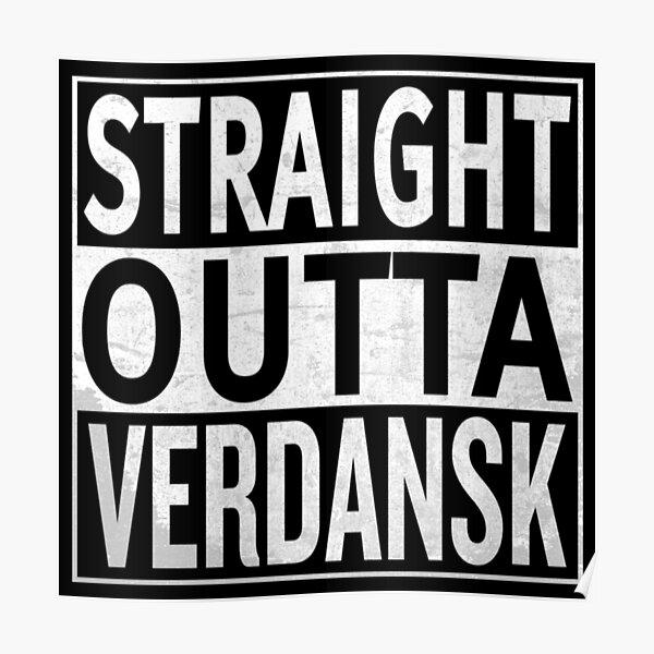Directamente de Verdansk Póster