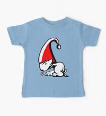 English Bull Terrier Gnome Baby Tee