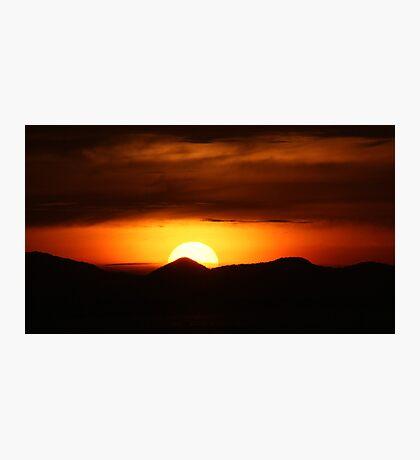 Spectacular Sunset Photographic Print