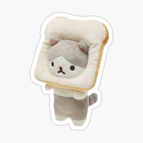Bread Cat Plushie Sticker