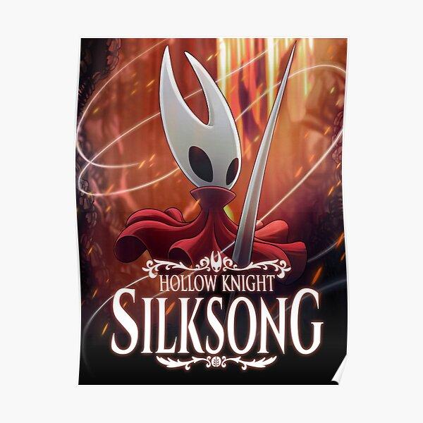 Hollow Knight Silksong Póster