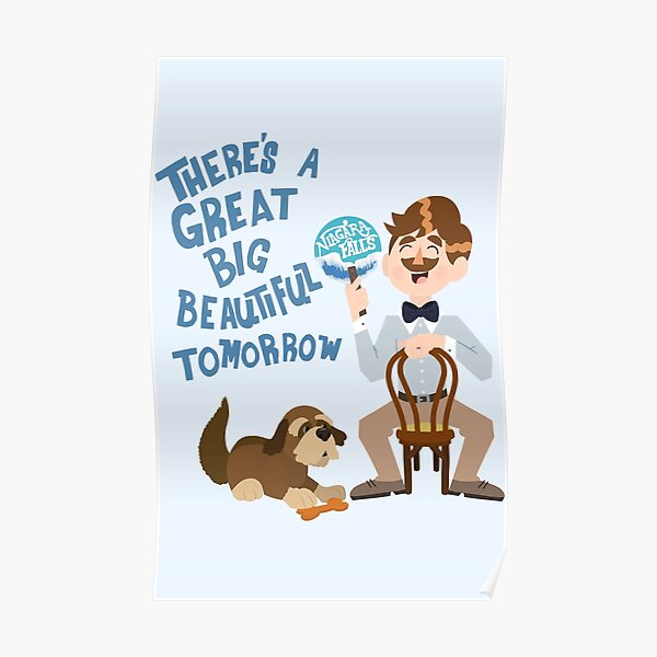 Man Has A Dream Poster