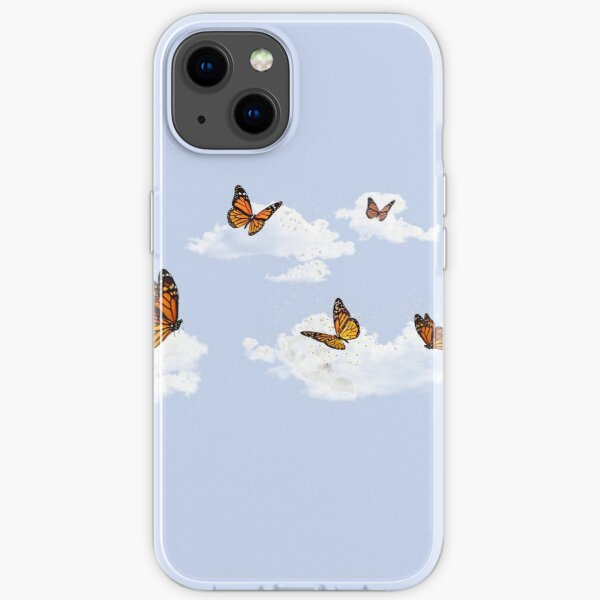 Butterflies In The Clouds iPhone Soft Case