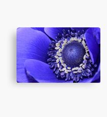 Blue Flora Canvas Print