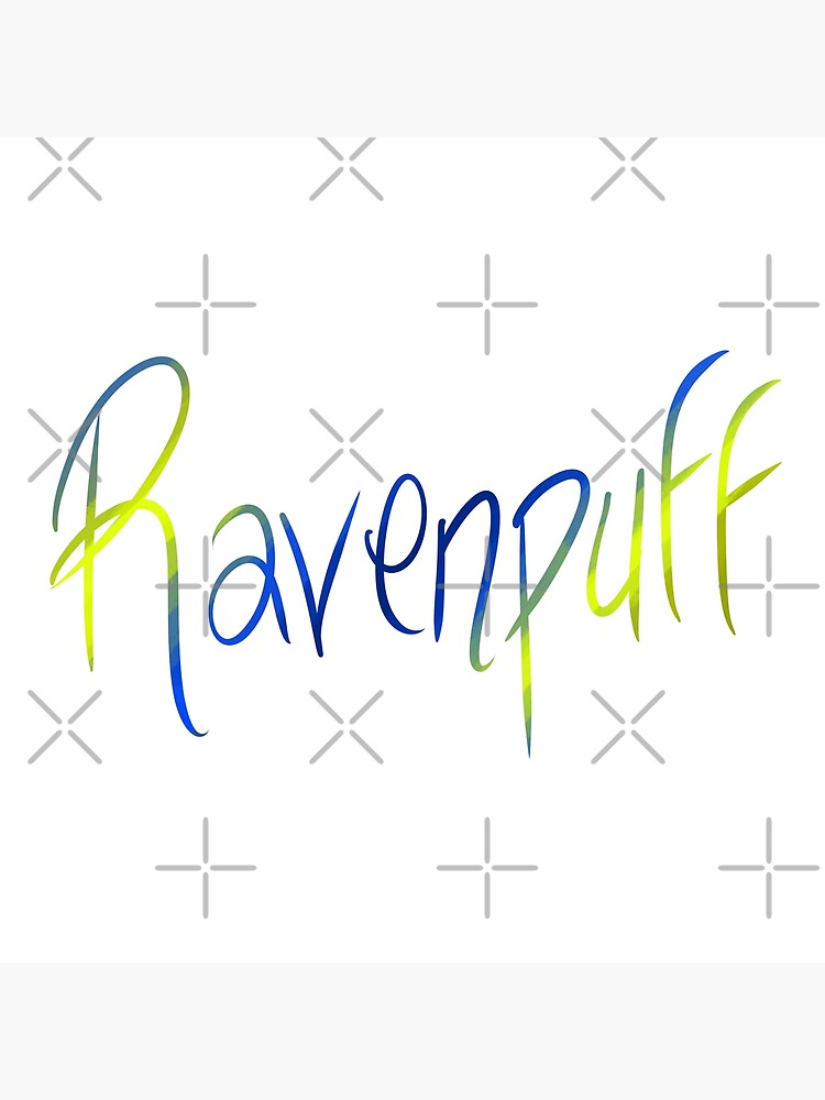 Ravenpuff Galligraphy by Zorume