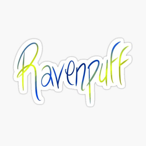 Ravenpuff Galligraphy Sticker