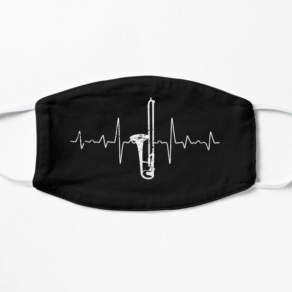 Heartbeat trombone Flat Mask