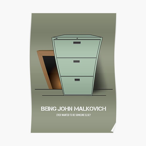 Being John Malkovich - Alternative Movie Poster Poster