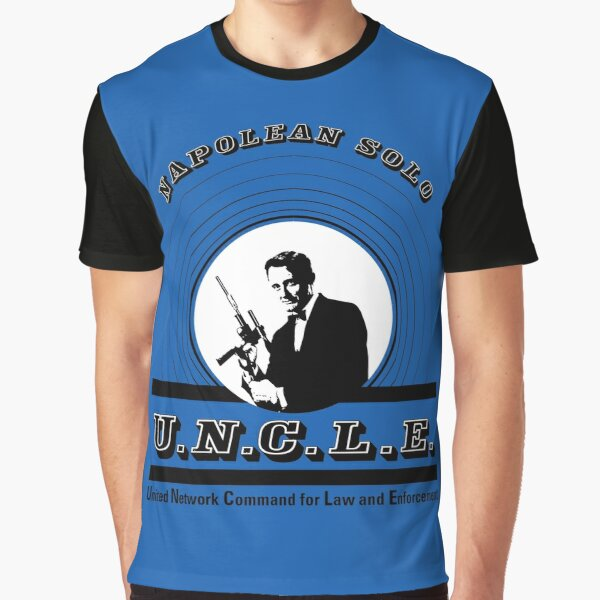 The Man from Uncle - Napolean Solo Graphic T-Shirt