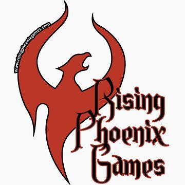 Rising Phoenix Logo by CptPhoenix