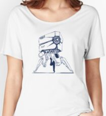 Robot tripod Women's Relaxed Fit T-Shirt