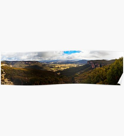 Winter in the Megalong Valley, Blue Mountains, Australia Poster