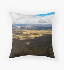 Winter in the Megalong Valley, Blue Mountains, Australia Throw Pillow