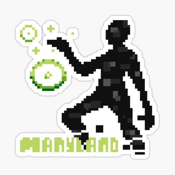 Manyland Universe Being by Lanapop Sticker