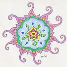 Swirly Mandala by healeyor