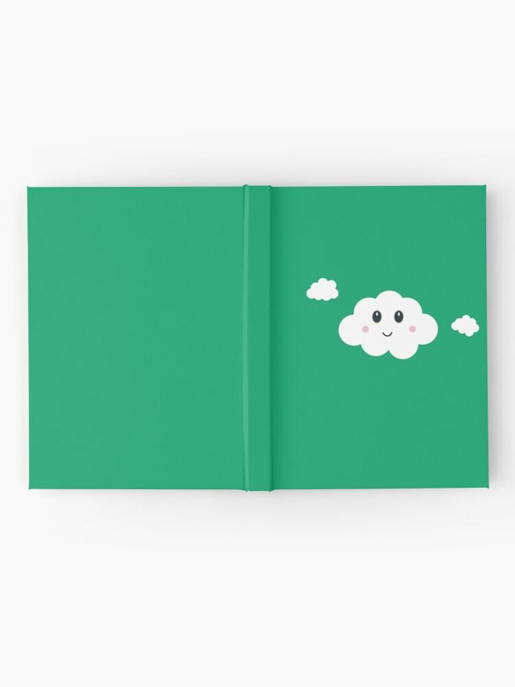 Vista alternativa de Cuaderno de tapa dura Happy Cloud