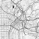 Los Angeles OpenStreetMap Poster by Traut1