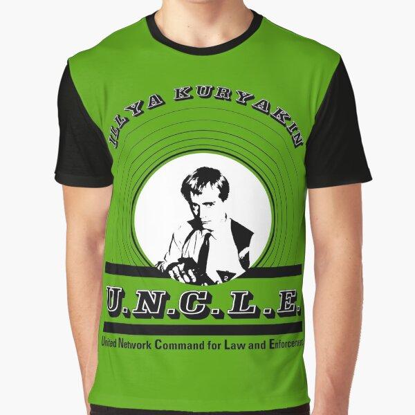 The Man from Uncle - Illya Kuryakin Graphic T-Shirt