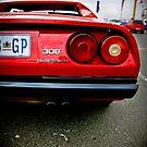 Ferrari 308  by David  Preston