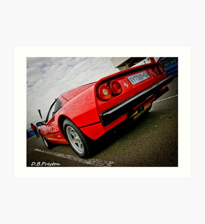 Ferrari Power  Art Print