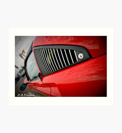 The 308 Ferrari  Art Print