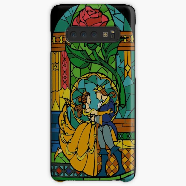 Beauty and The Beast - Stained Glass Samsung Galaxy Snap Case