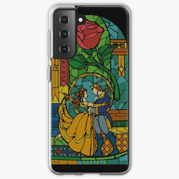 Beauty and The Beast - Stained Glass Samsung Galaxy Soft Case
