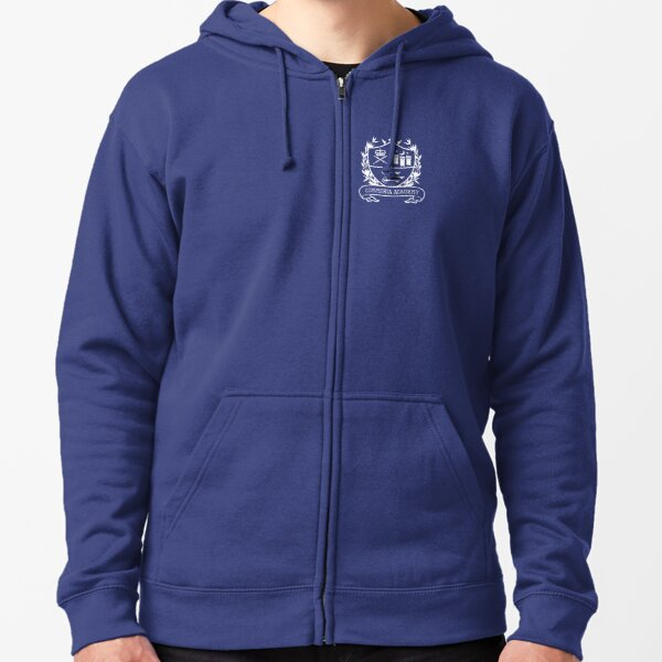 Cimmeria School Crest Zipped Hoodie