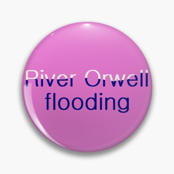 River Orwell flooding #02 Pin
