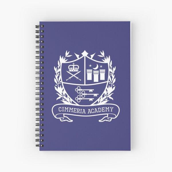 Cimmeria School Crest Spiral Notebook