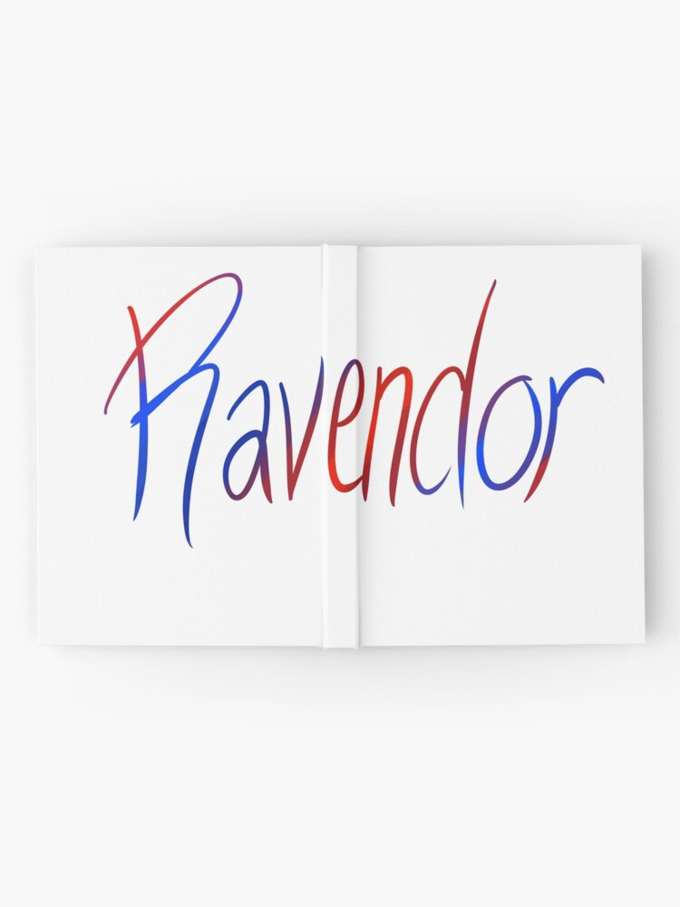 Alternate view of Ravendor Galligraphy Hardcover Journal