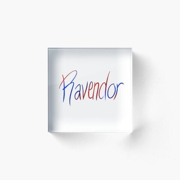 Ravendor Galligraphy Acrylic Block