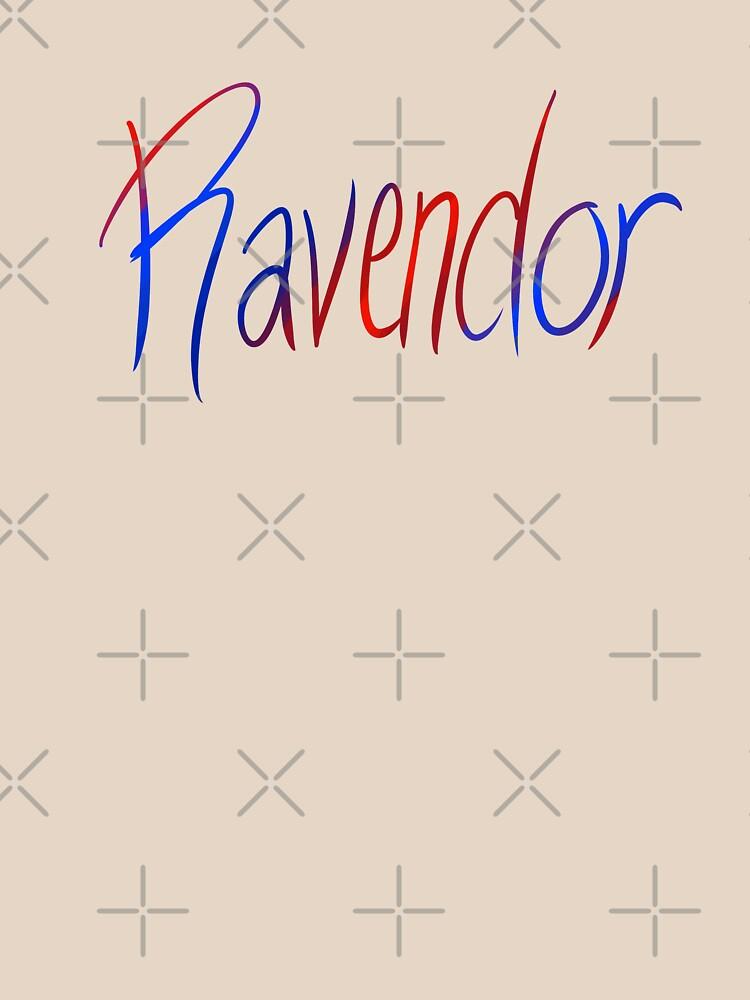 Ravendor Galligraphy by Zorume
