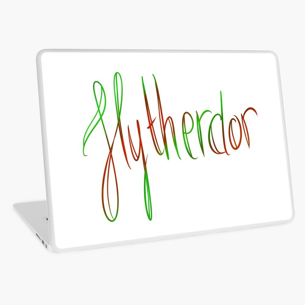 Slytherdor Galligraphy Laptop Skin