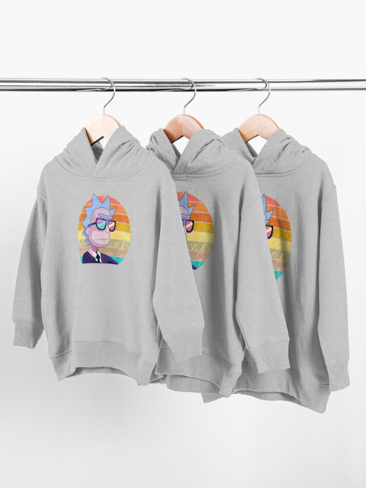 Alternate view of Rick Sanchez - Run the Jewels Toddler Pullover Hoodie
