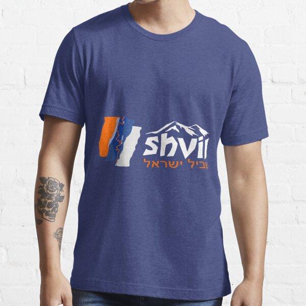 Israel National Trail Shvil Israel, weiß Essential T-Shirt