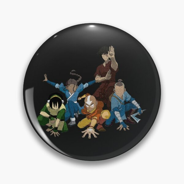 Avatar The Last Airbender Group Pin