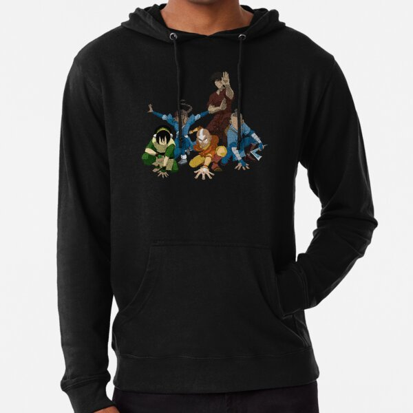 Avatar The Last Airbender Group Lightweight Hoodie