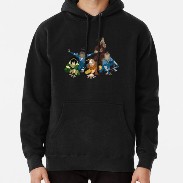 Avatar The Last Airbender Group Pullover Hoodie