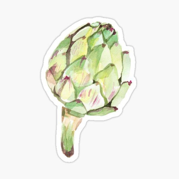 Artichoke head Sticker