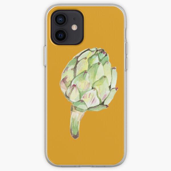 Artichoke head iPhone Soft Case