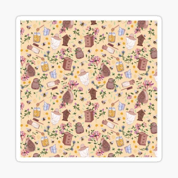 Bee Keeper Pattern Sticker