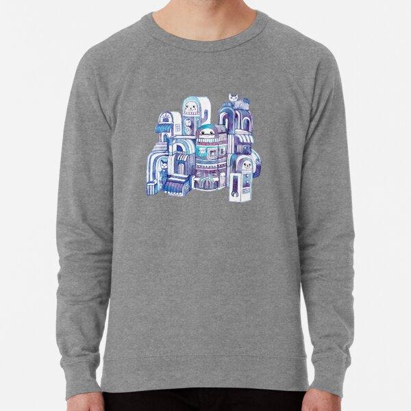 Cats in Robot Town Lightweight Sweatshirt