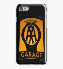 Vintage Garage Sign iPhone Case iPhone Case/Skin