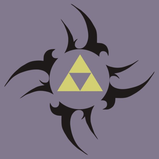 TShirtGifter presents: Triforce - Black