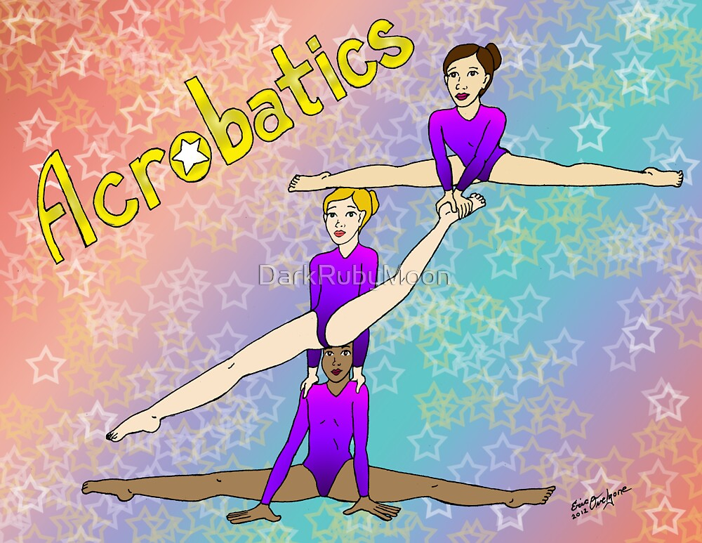 Acrobatics 3 (Acrobatic superstar) by DarkRubyMoon