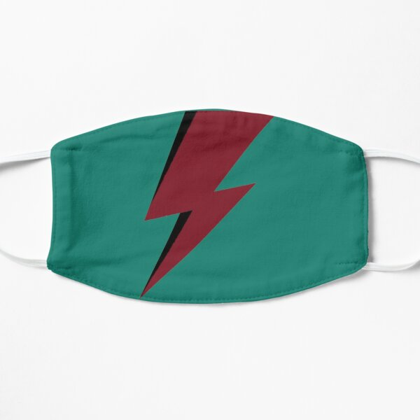 Red Bowie David Lightning Mask